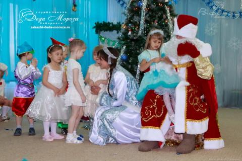 Заказать Деда Мороза и Снегурочку в детский сад Хабаровск