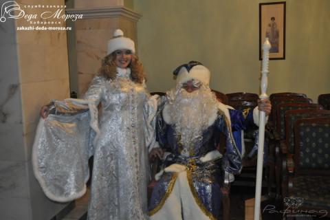 Костюмы Деда Мороза и Снегурочки фото 2012!